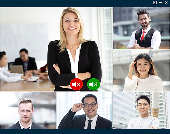 Group of Business team working people us