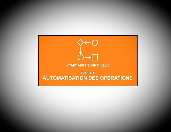 Automatisations des opérations