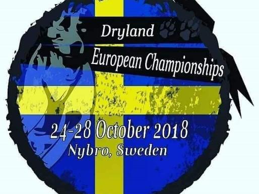 """Het leven zoals het is """"Teamleader European Championship Dryland Nybro""""."""