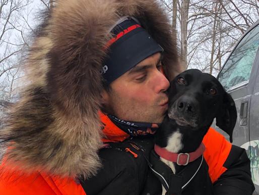 Kale Casey doet live verslag van de Iditarod