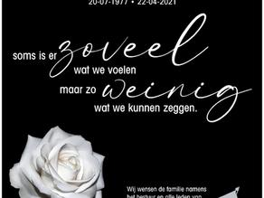 Patrick van der Wal est décédé