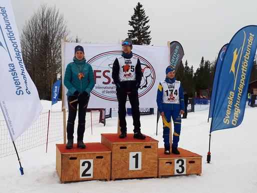 Mariet Joosten Vice European Champion Snow Asarna 2020 !!!