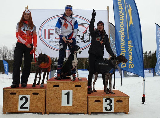 Cindy Pool derde plaats IFSS European Championship Snow 2020