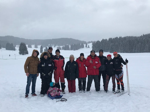 IFSS EC on snow 2018 in lavarno Millegrobe in Italie