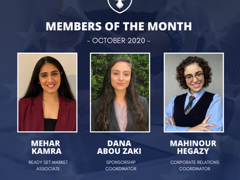 Members of the month: October 2020