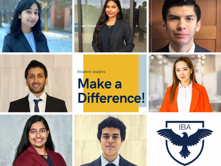 Meet IBA Executive Board 2020 - 2021
