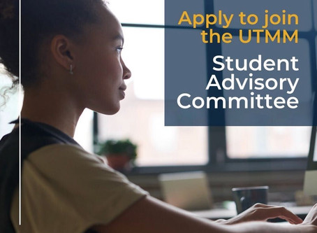 Join UTM Management's Student Advisory Committee 2020/21!