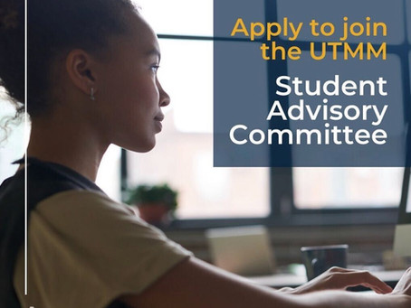 Join UTM Management's Student Advisory Committee 2020/21!