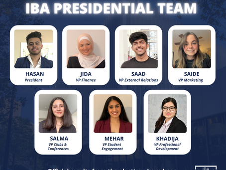 IBA Presidential Elections 2021 Results