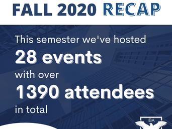 IBA's Fall 2020 Semester Recap