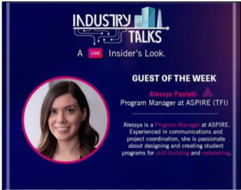 The Conversation Begins: Industry Talks