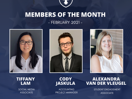Members of the month: February 2021
