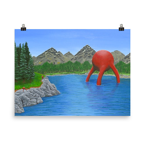 Back to Nature - Matte Paper Poster