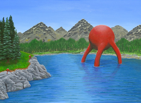 Back to Nature - The  final painting