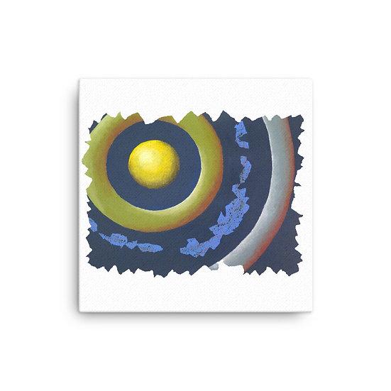 Circles 3 - Canvas Print