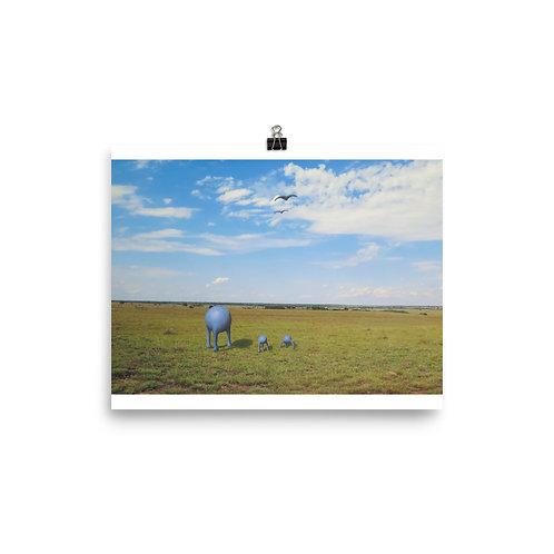 The Caretakers - Matte Paper Poster