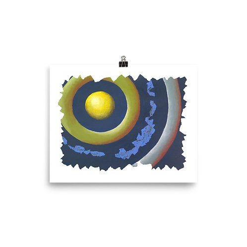 Circles 3 - Matte Paper Poster