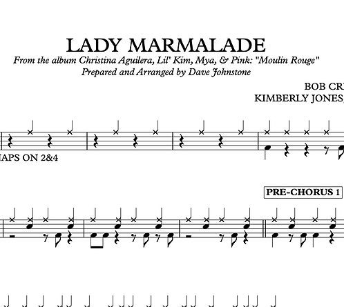 Lady Marmalade - Christina Aguilera, Lil' Kim, Mya, & Pink