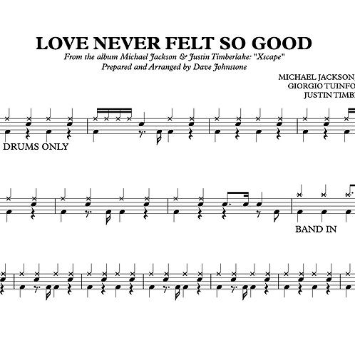 Love Never Felt So Good - Michael Jackson & Justin Timberlake