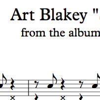 "Art Blakey ""Sincerely Diana"""