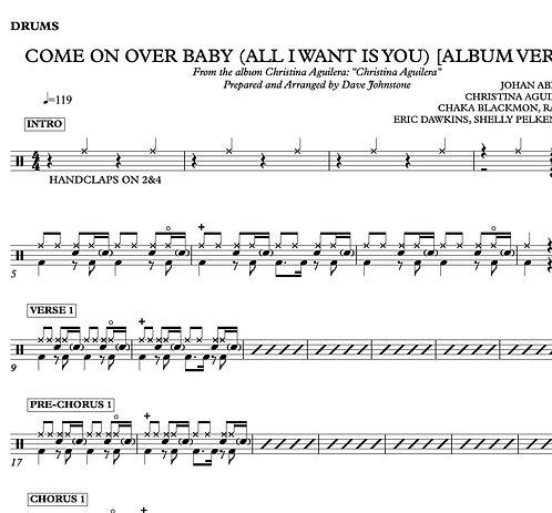 Come On Over Baby (Album Version) - Christina Aguilera