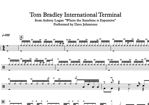 "Aubrey Logan ""Tom Bradley International Terminal"""