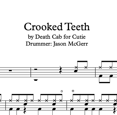 Death Cab for Cutie - Crooked Teeth 50% OFF