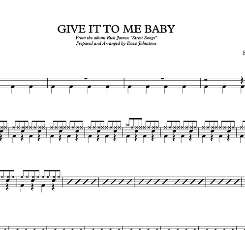 Give It To Me Baby - Rick James