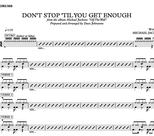 Don't Stop 'Til You Get Enough - Michael Jackson