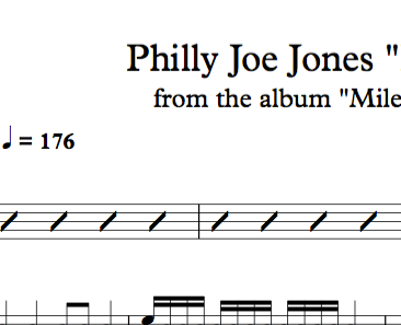 "Philly Joe Jones ""Blues By Five"" (Miles Davis)"