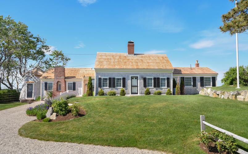 Exterior Renovation; North Chatham, Massachusetts
