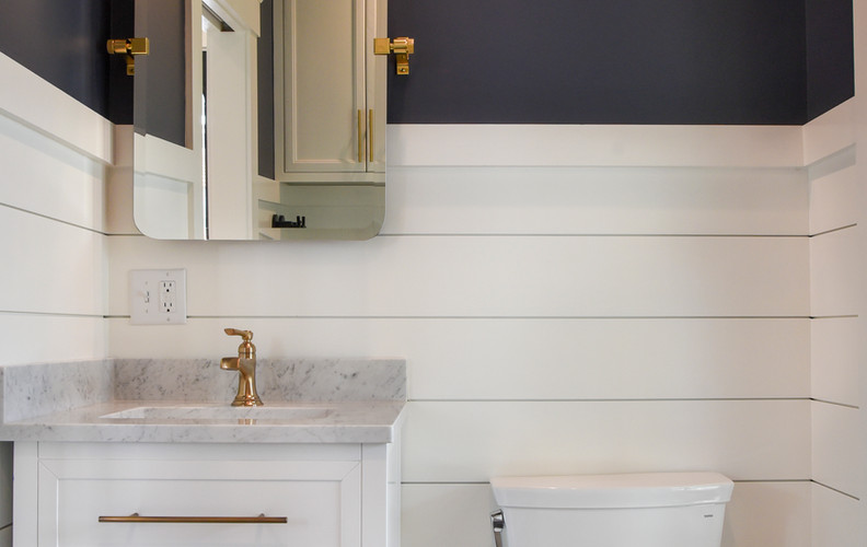 New Half Bath, Historic Home Remodel, Harwich Port