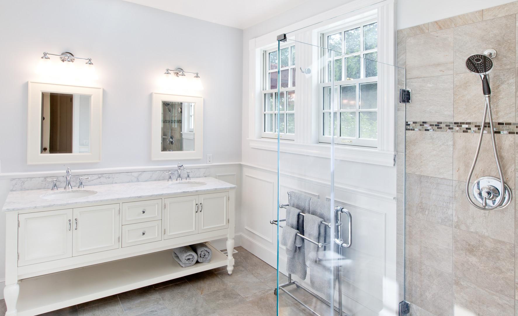 Bathroom remodel, Osterville