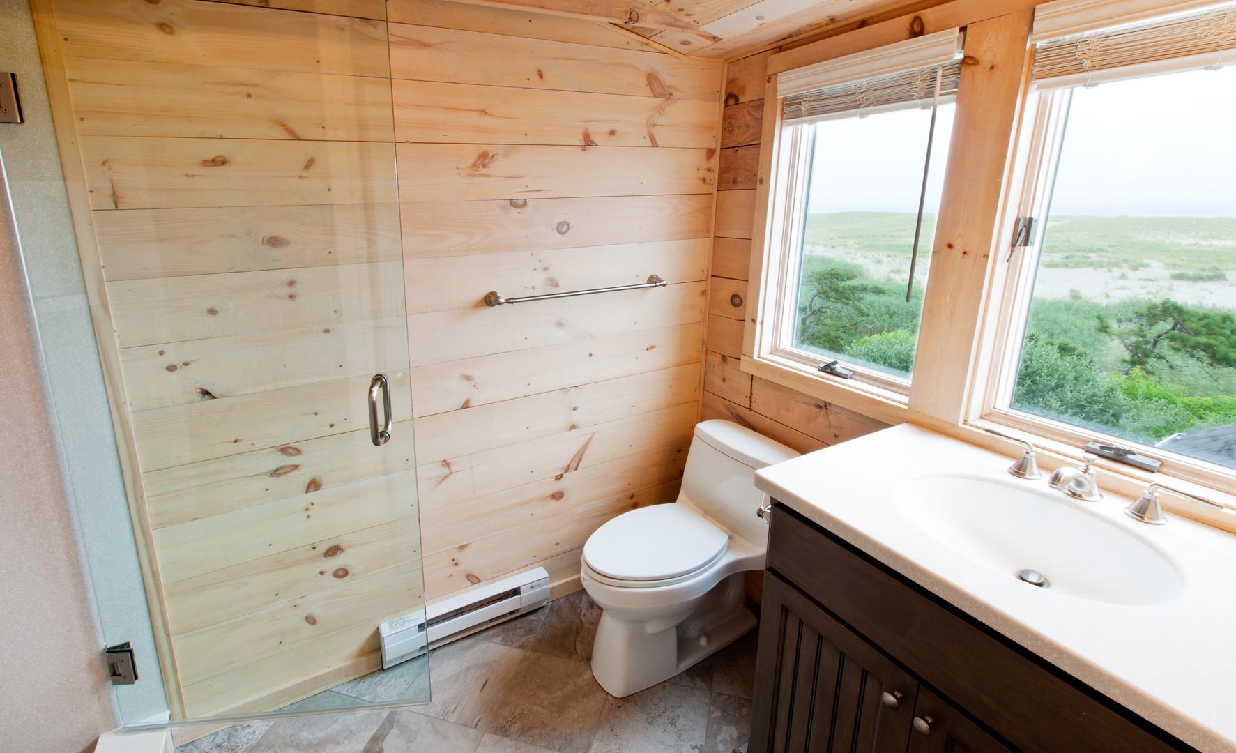 Multiple bathroom renovation, East Orleans