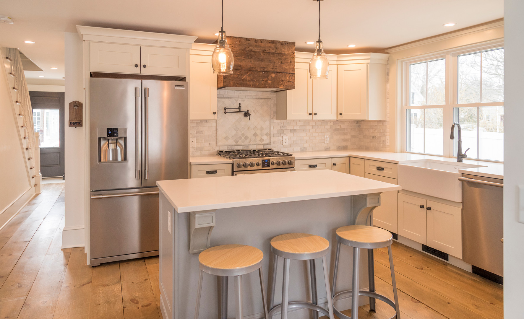 New Kitchen/Historic Home Renovation, Harwich Port