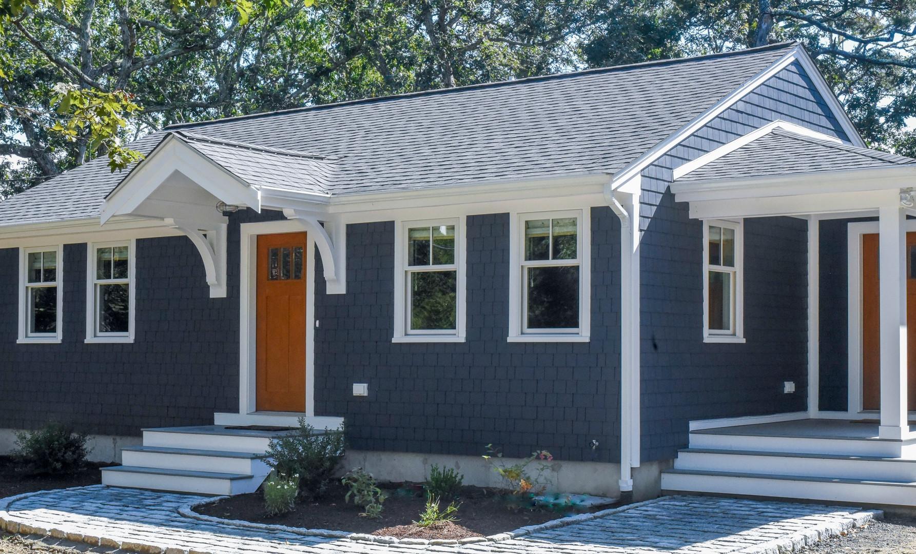 Exterior renovation, Brewster