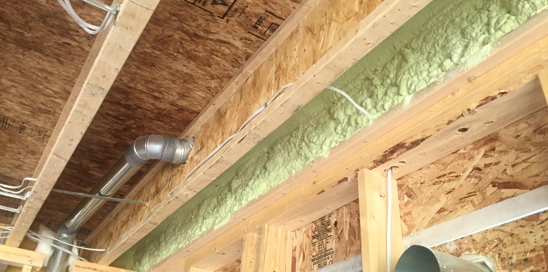 residential rim joist insulation