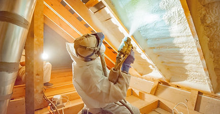 Spray foam insulation Edmonton