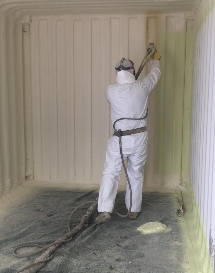 Seacan insulation