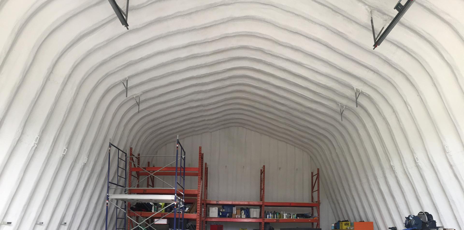 finished barn.
