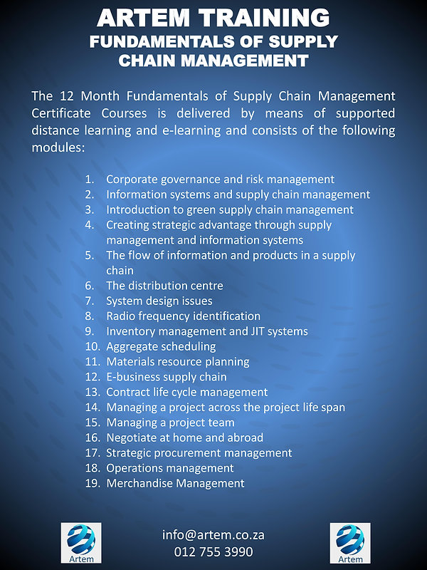 Fundamentals of supply chain overview