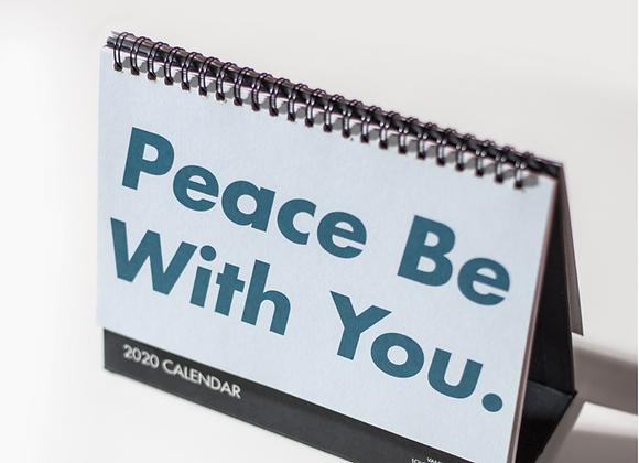 2020 Calendar - Peach Be With You