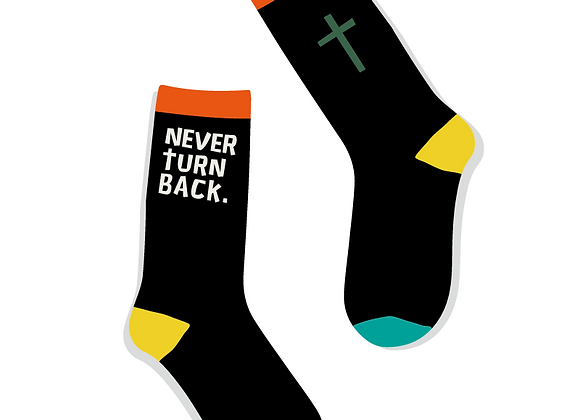 Never Turn Back Socks