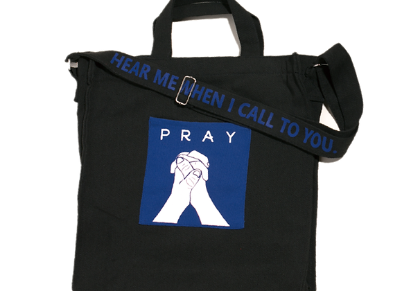 IPray Canvas bag - Balck