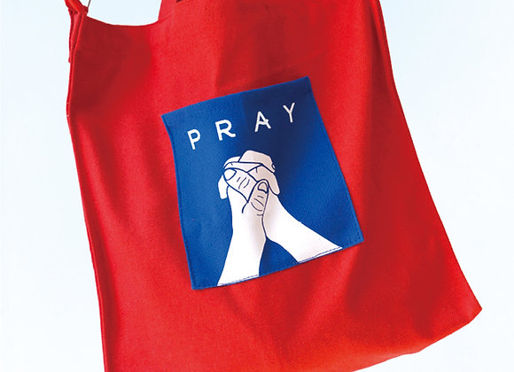 IPray Canvas bag - Red