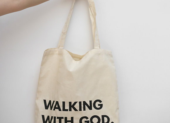 Walking With GOD - Shopping Bag