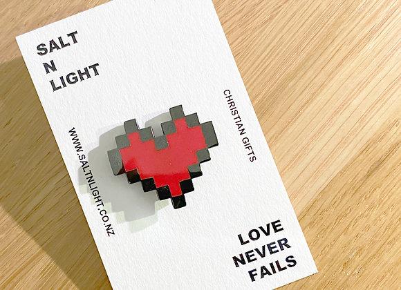 LOVE Brooch/Cufflink - SNLLimited Edition