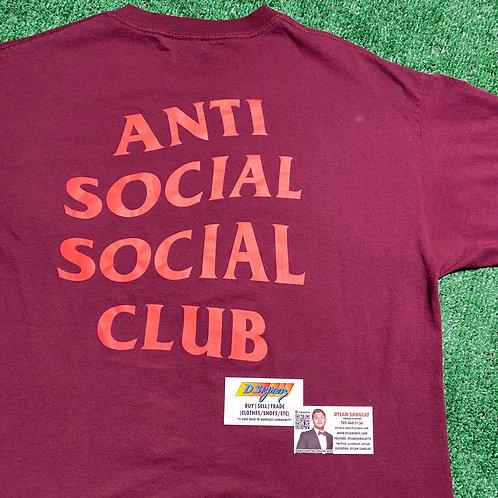Maroon ASSC T-Shirt (Size: XL)