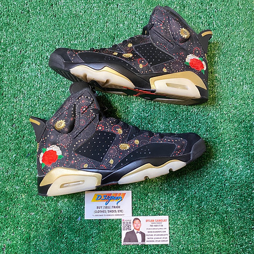Chinese New Year Jordan 6s (Size: 11)