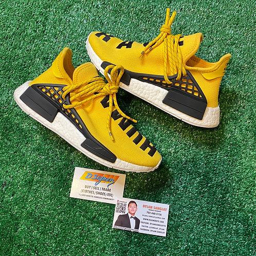 "Pharrell x NMD Human Race ""Yellow"" (Size: 5)"